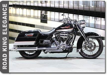 Harley Davidson Road King Umbau Dr. Mechanik